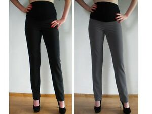 Businesshose Umstandshose*Hose*elegant**schwarz oder grau**36,38,40,42,44,46,48