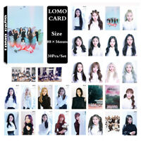 30Pcs/set KPOP LOONA Album Butterfly Photo Card Poster Lomo Card PhotoCard