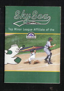 Colorado Springs Sky Sox--1999 Pocket Schedule--Sprint--Rockies Affiliate