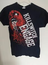 EUC Killswitch Engage Zombie Band Tour Graphic Printed T-Shirt Men Small