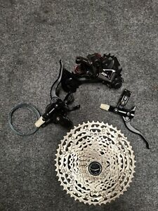 """""""New Take Off"""" Shimano Deore XT M8100 12 speed Rear Derailleur, M6100 Group set."""