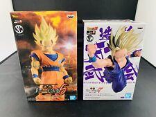 Dragon Ball Z Set Super Saiyan 2 Son Goku & Son Gohan Statue Figure Set Bandai