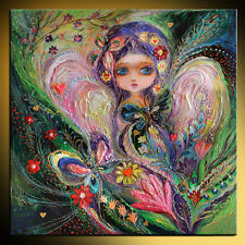 My little fairy Jemima: Superb quality giclee pop art print by Elena Kotliarker