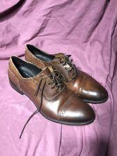 GORDON RUSH Men's Leather Dress Shoes Size 10.5 Wingtip Brown