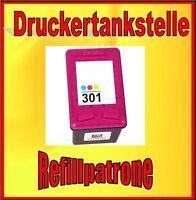 Refillpatrone HP 301 XL 7,5ml DESKJET 1000 1010 1050 2050 2510 2540 3050A 3055A