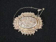 Silver Brooch 000000C0 Solid 925 Sterling