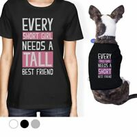 ed25603cdd84 Say Hello To My Little Friend Mustache Owner and Pet Matching Black ...
