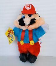 Nintendo Super Mario Bros. Plush Video Game Doll 1988 Acme Vtg Old NOS SNES NES