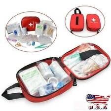 100PCS First Aid Kit All-Purpose Premium Medical Supplies and Emergency Bag US