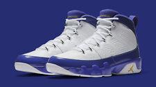 Nike Air Jordan 9 IX Retro Lakers Kobe Bryant PE Size 16. 302370-121 1 2 3 4 5