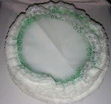 85 veli di fata organza tulle pizzo bianco bomboniere matrimonio battesimo