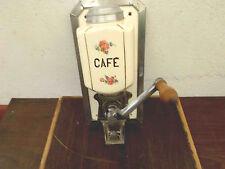 MOULIN A CAFE MURAL ANCIEN  AVEC SUPPORT