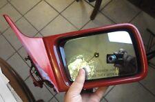 90-96 Mercedes R129 300SL SL320 Side View Door Mirror Right Passenger red OEM