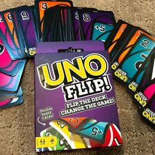 UNO Flip Card Game Classic Party Game for 2-10 People