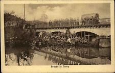 Soldaten 1. Weltkrieg 1914/18 Brücke in Essey Frankreich Westfront Carte Postale