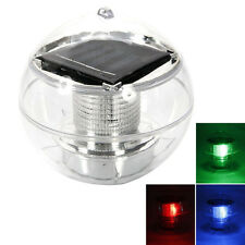 Beautiful Solar Floating Pond Rotate Colorful Lamp LED Light Color Changing