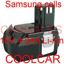 Battery For Hitachi 18V 4.0Ah Samsung Li-ion Cell BCL1840 DS18DFL DS18DF DS18DL