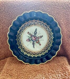 Antique 18th Century First Period Worcester Porcelain Plate