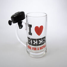 Ring for A Refill Bell Beer Mug Men's Pint Jug Glass Novelty Gift Secret Santa