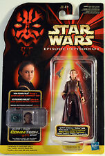 Star Wars Power of the Force Queen Amidala  Now Figures Talk Blaster pistol 1998