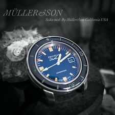 "Müller&Son ""Barakuda"" Watch Mod made from Seiko SNZH Fifty Five Fathoms+Bracelet"