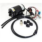 Johnson Pump 80-47508-01 Pump Oil Change Gear 12V 2.6GPM Hose 6'