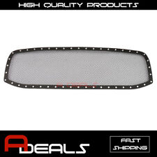 For Dodge Ram 1500 2006 2007 2008 Upper Black Stainless Steel Mesh Grille Insert