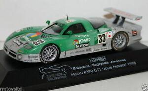 ONYX 1/43 SCALE - XLM99004 - NISSAN R390 GT1 JOMO NUMBER 1998 MOTOYAMA