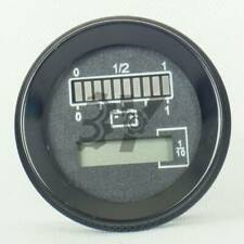 1PCS New Round Battery Meter & Hour Meter replace for Curtis 803 24V/48V