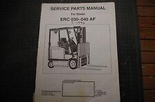 Yale Erc 030 040 Af Gabelstapler Spart Teile Manuell Buch Katalog 1996 Geschäft