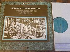 VSL 11015 Schubert Violin Sonatas / Schneider / Serkin