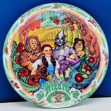 Wizard of Oz collectors plate Milnazik Knowles music box Off to see Wizard Toto