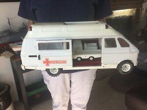 Vintage Tonka Trucks Tonka Toys Pressed Steel Rescue Van
