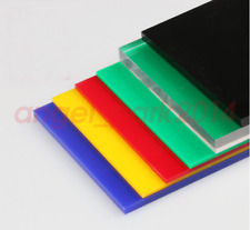3mm #E GY 200mm 1pcs CLEAR ACRYLIC SHEET TRANSPARENT PMMA PANEL PLATE 300mm