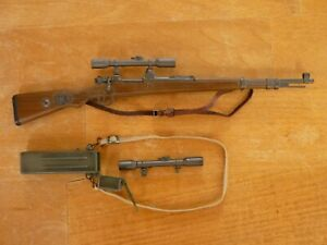 Action Figure DID DRAGON WWII 1/6e : Kar 98 + lunette Sniper Allemand