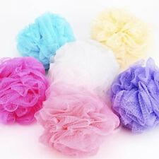 5Pack Bath Shower Body Exfoliate Puff Sponge Mesh Net Ball Random