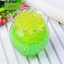 Pearl Shaped Crystal Soil Magic Jelly Balls Water Beads Mud Soft Watergun New