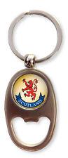 Scottish Lion Rampant Scotland Oval Bottle Opener Keyring Charm