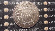 BRASILE BRAZIL 960 REIS 1820 R SILVER ARGENTO