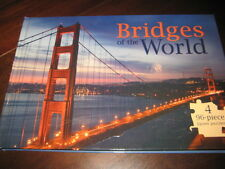 Bridges of the World 4 96-Piece Jigsaw Puzzle Book Charles Bridge Rialto Bridge