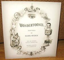 SIGNED Mark Ryden Wondertoonel Paintings By 1st Museum Exhibition Postcard PB