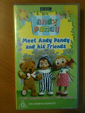 ANDY PANDY ~ BBC ~ MEET ANDY PANDY AND HIS FRIENDS ~ RARE VHS VIDEO