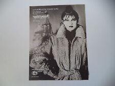advertising Pubblicità 1979 PELLICCE KARAKUL BUKHARA USSR