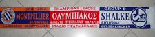 v OLYMPIAKOS ARSENAL MONTPELLIER SHALKE SCARF UEFA CHAMPIONS LEA 2012 -2013
