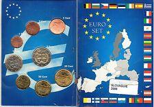 EURO  SLOVAQUIE  SERIE  1 C A  2  €  NEUVE  2009