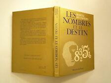 LES NOMBRES ET LE DESTIN DE MARTAL AO TAPIERO ED MERCURE DE FRANCE 1983