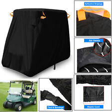 Seater Golf Cart Cover Buggy Rain Waterproof Sunproof For EZGO/Club Car/Yamaha