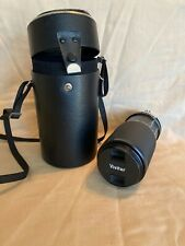 Vivitar Camera Lens 75-200 mm f4.5 Focusing Macro Zoom With Case