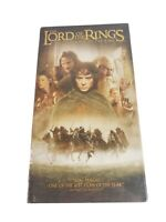 The Lord of the Rings: The Fellowship of the Ring VHS New Sealed Hollywood Video
