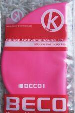Silikon Schwimmhaube Kinderbadekappe Silikon Badekappe swim Cap 7399 Fa. pink